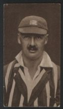 Tobacco Cigarette card cricket cricketers Middx #329